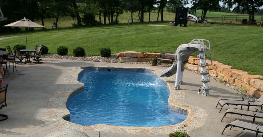 A. Browning Construction Viking Pool Install